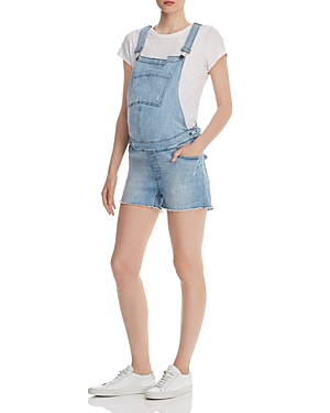Dl Tops DL1961 ABIGAIL DENIM MATERNITY OVERALLS IN CROWLEY