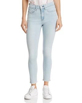 rag & bone - Nina High-Rise Ankle Skinny Jeans in Akron
