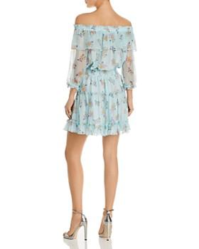 Shoshanna - Bethea Floral Off-the-Shoulder Dress