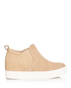 J/Slides - Women's Sallie Hidden Wedge Sneaker Booties