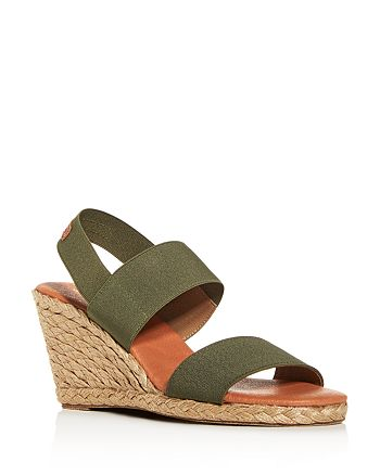 Andre Assous - Women's Allison Strappy Espadrille Wedge Sandals