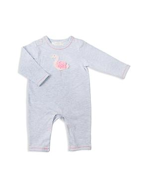 Albetta Girls' Crochet-Flamingo Coverall - Baby