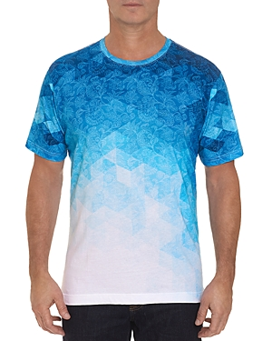 Robert Graham Bluios Ombre Pattern Tee-Men