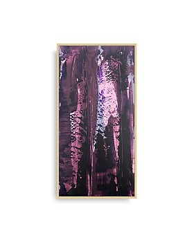 Bloomingdale's Artisan Collection - Purple Poured Panel II Wall Art