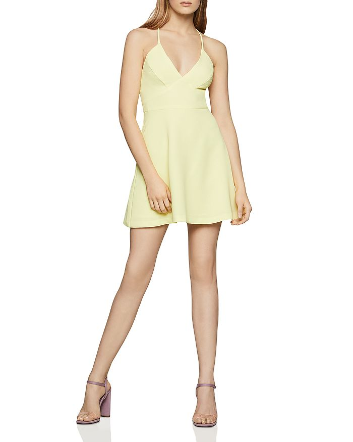 BCBGENERATION - Crisscross-Back Fit-and-Flare Dress