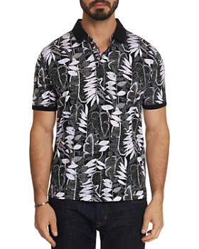 Robert Graham - Dimas Floral-Print Classic Fit Polo Shirt