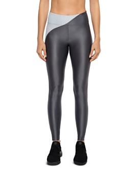 KORAL - Chase Color-Block Mesh-Inset Leggings