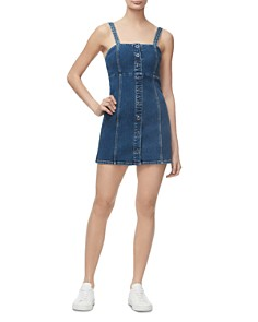 Good American - Denim Mini Dress