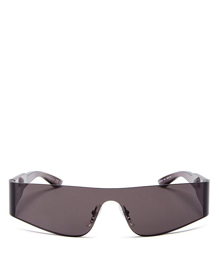 Balenciaga - Unisex Wraparound Shield Sunglasses, 185mm