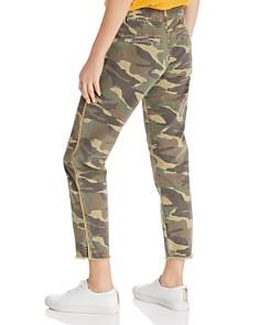 Sundry - Rainbow-Stripe Camo Straight-Leg Pants