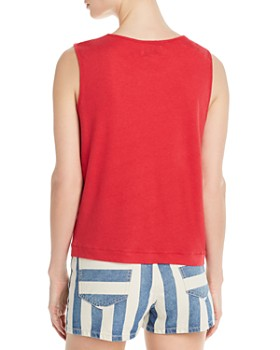 Current/Elliott - The Tied Up Muscle Tank