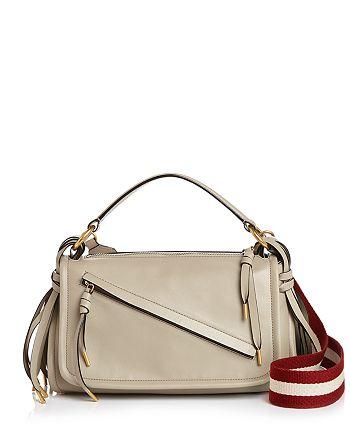 tela Pasteles cada vez  Bally Kyrah Small Leather Messenger Bag | Bloomingdale's