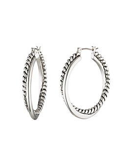 Ralph Lauren - Twist & Spiral Hoop Earrings