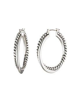 Ralph Lauren - Twist & Spiral Hoop Earrings