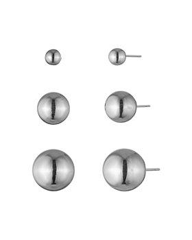 Ralph Lauren - Multi-Size Sphere Stud Earrings