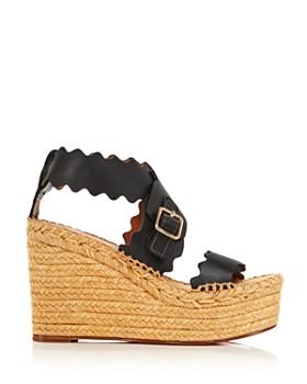 Chloé - Women's Lauren Espadrille Wedge Sandals