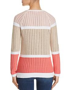 Calvin Klein - Open-Stitch Knit Sweater
