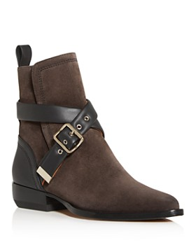 Chloé - Women's Roy Low-Heel Booties