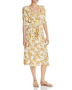 Faithfull The Brand Dresses FAITHFULL THE BRAND RAFA MIDI DRESS