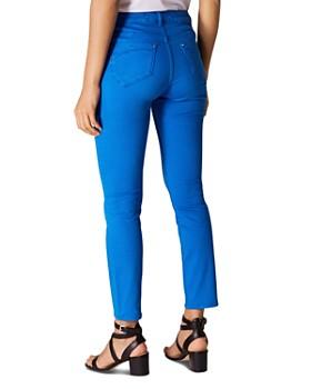 KAREN MILLEN - Ankle Skinny Jeans in Blue