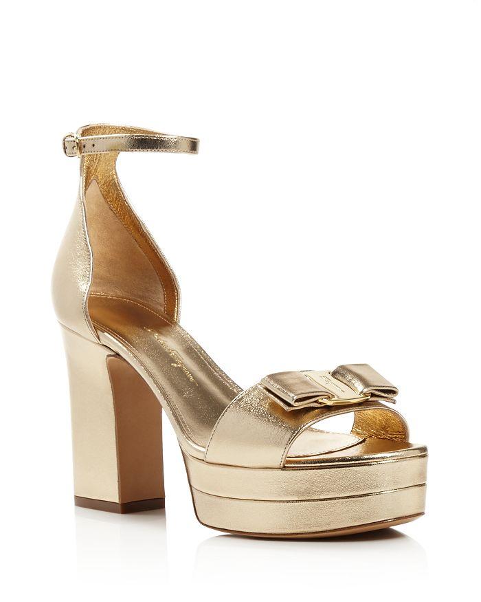 1036bbafed0 Salvatore Ferragamo Women s Eclipse Block-Heel Platform Sandals ...