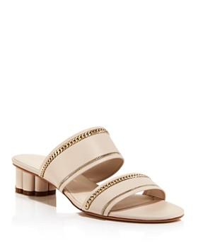 Salvatore Ferragamo - Women's Belluno Leather Sandals
