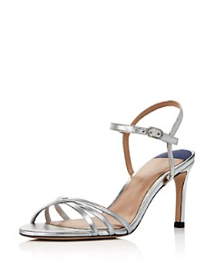 Stuart Weitzman - Women's Starla 80 Metallic High-Heel Sandals