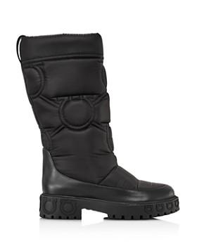 Salvatore Ferragamo - Women's Ashley Nylon Platform Boots