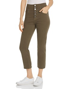 Joie - Laurelle Crop Straight Jeans in Fatigue