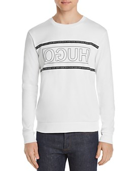 HUGO - Dicago 193 Reverse-Logo Graphic Sweatshirt