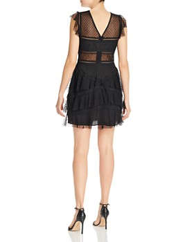7fdc36df5 ... BCBGMAXAZRIA - Point D esprit Mini Dress