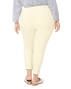 NYDJ Plus - Ami Ankle Skinny Jeans in Marigold