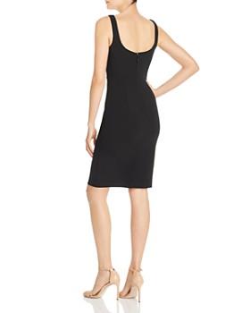 AQUA - Notched Body-Con Dress - 100% Exclusive