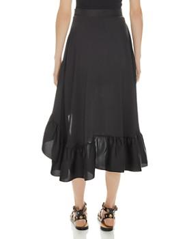 Sandro - Ilona Ruffled Midi Skirt