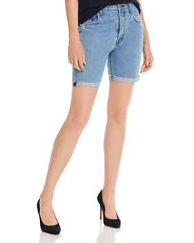 J Brand - Billey Cutoff Denim Shorts in Acoustic