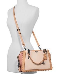 COACH - Dreamer Medium Whipstitch & Color-Block Leather Shoulder Bag