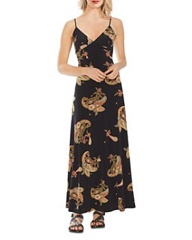 VINCE CAMUTO - Paisley Spice Printed Maxi Dress