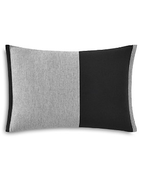 "ED Ellen Degeneres - Felt and Heather Twill Decorative Pillow, 12"" x 16"""