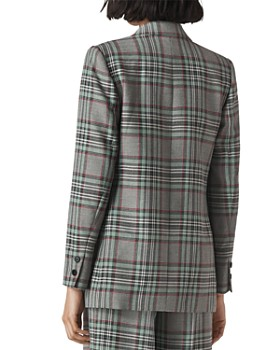 991bc831412 ... Whistles - Plaid Double-Breasted Blazer
