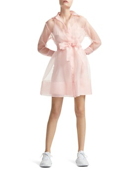 c3ad727dd2 Maje - Revani Organza Mini Shirt Dress ...