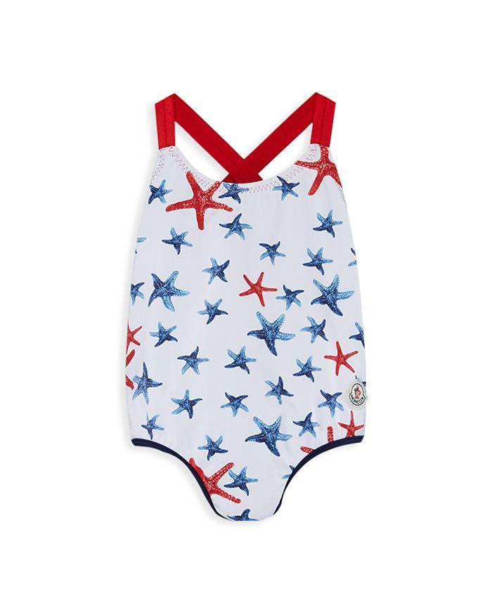 Moncler - Girls' Star Racerback Swimsuit - Baby