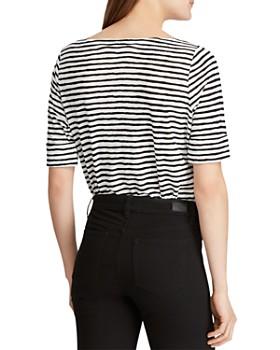 Ralph Lauren - Brushstroke-Striped Top