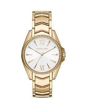 Michael Kors - Whitney Chevron Link Bracelet Watch, 38mm