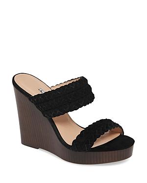 Charles David Women\\\'s Tifa Raffia Wedge Sandals