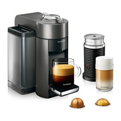 Nespresso - Vertuo Coffee & Espresso Maker by De'Longhi with Aeroccino