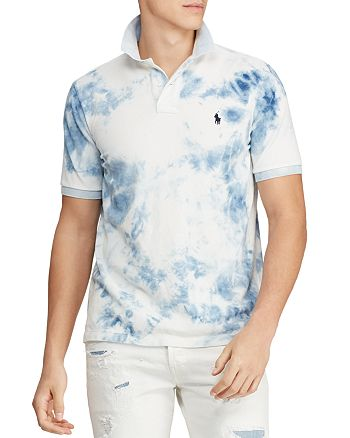 Polo Ralph Lauren - Tie-Dyed Custom Slim Fit Polo Shirt