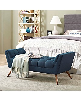 Modway - Response Upholstered Fabric Bench Collection