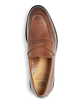 Cole Haan - Men's Kneeland Leather Penny Loafers