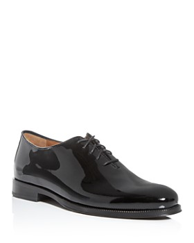 Cole Haan - Men's Gramercy Patent Leather Plain-Toe Oxfords
