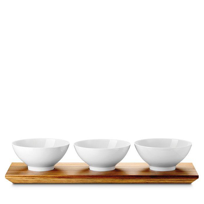 Rosenthal - Loft Three Bowl & Platter Set